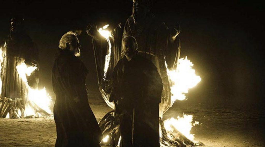 Stannis renonce sur cette plage au 7 dieux de Westeros.