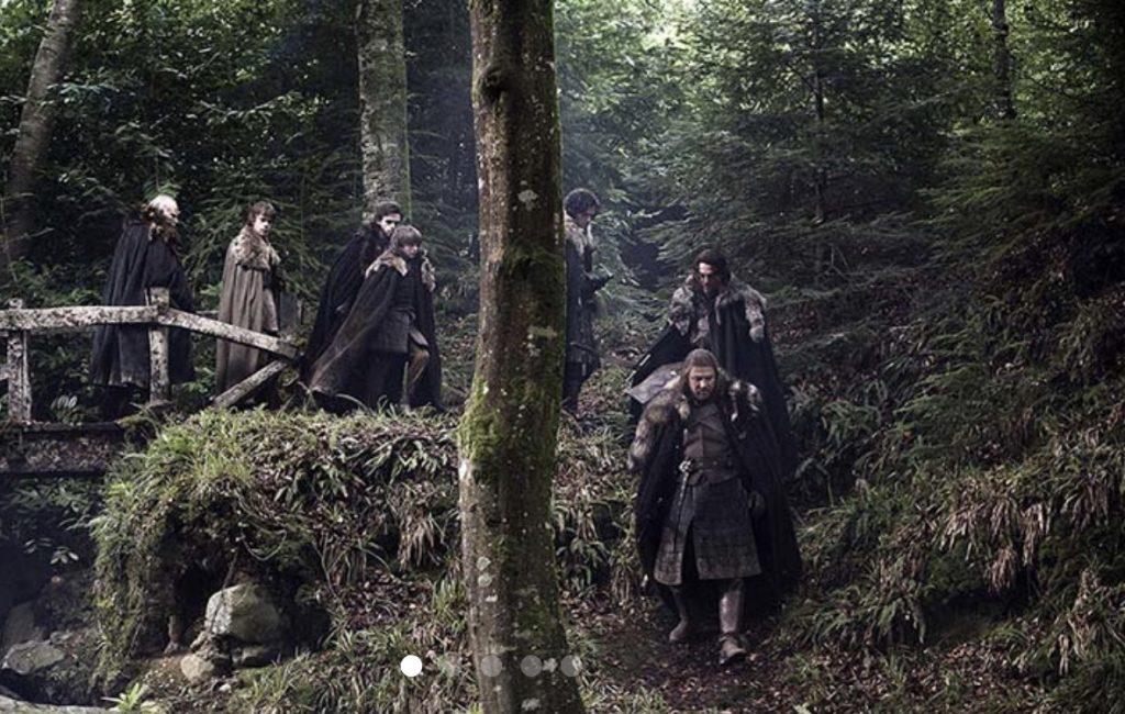 Scène Game of Throne Stark