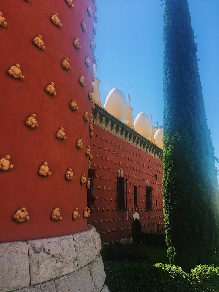 Extérieur du musée Dali