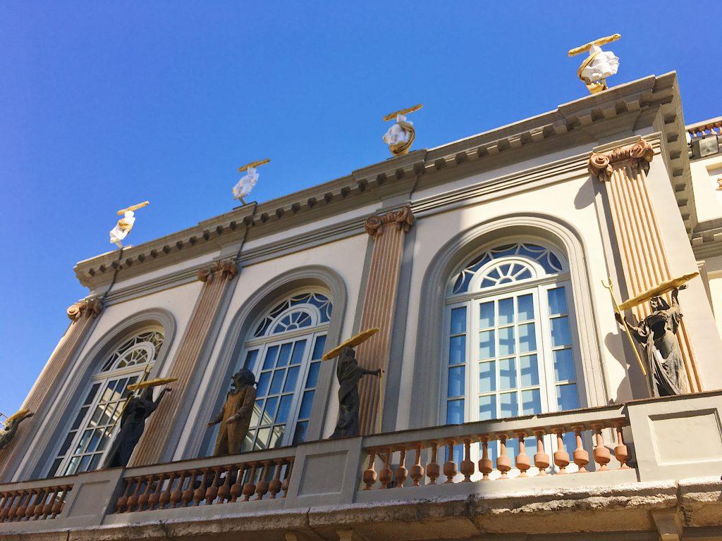 Ancien Théâtre Municipal, désormais extérieur du musée Dali
