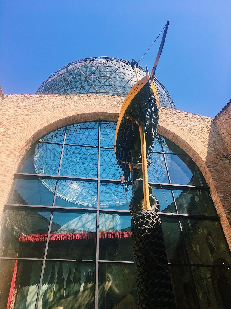 Cour intérieur du musée Dali